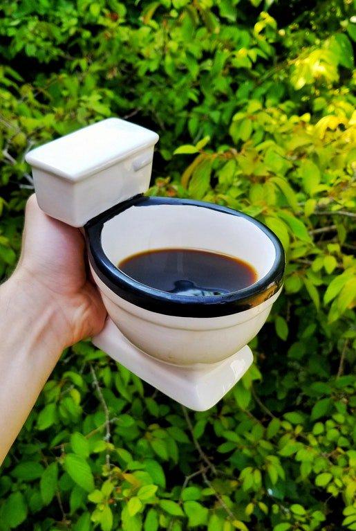 This coffee tasted like sh** 😀