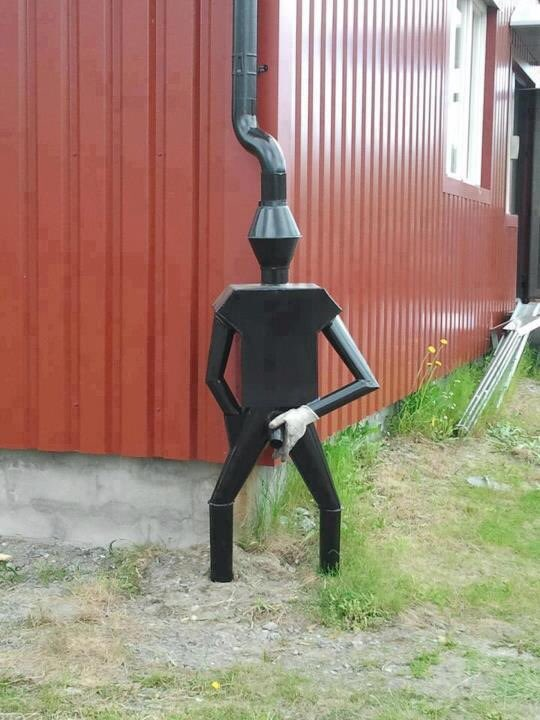 My kind of drainpipe 😀