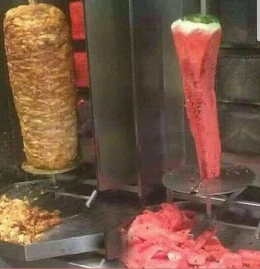 Loving the new vegan kebab on Masterchef 😀