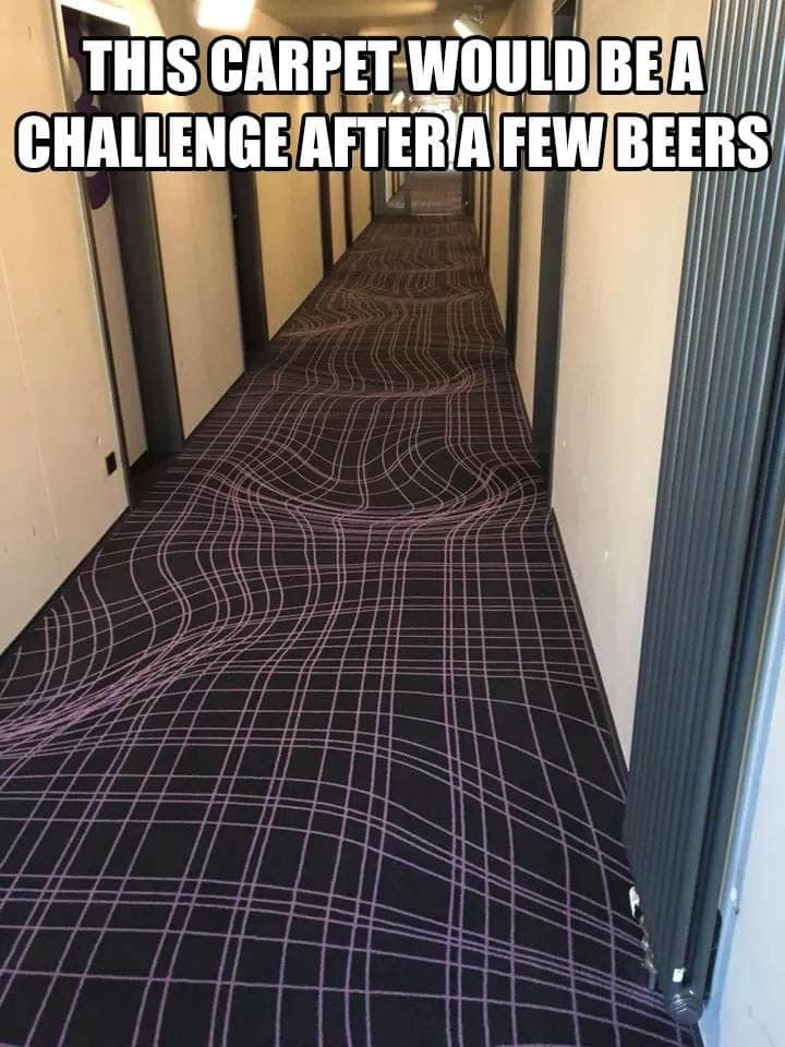 Fancy your chances when drunk? 🍺