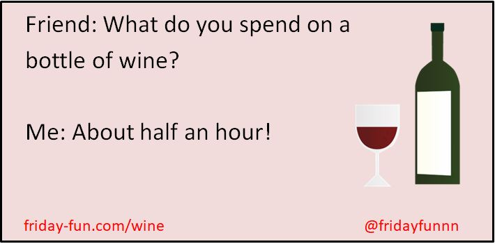 What do YOU spend on a bottle of wine? 😀