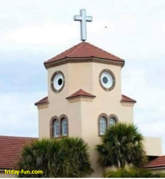 Is that a duck or a church? Can't quite tell! 😀