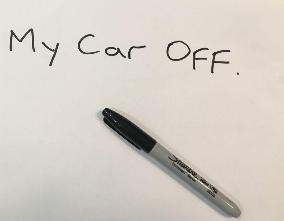Sad day ... I wrote my car off 🥴