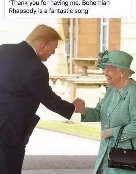 Nice one Donald! 😁