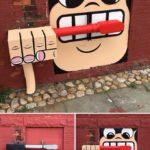 Graffiti level: Genius! 😀