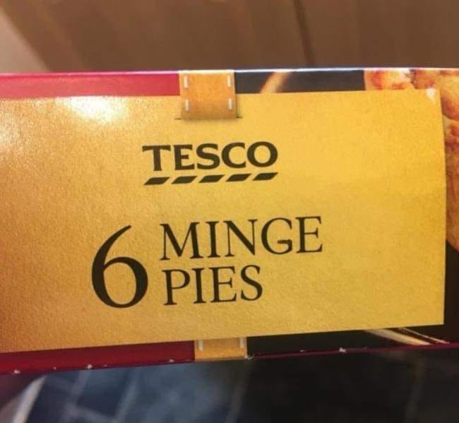 Now Christmas is over, must look up the recipe for Minge Pies! 😀