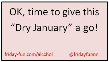 Time to give Dry January a go!