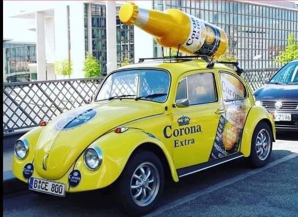 Look, that Corona Bug is here 😒