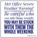 Sensible advice from the Met Office! 😀☔️