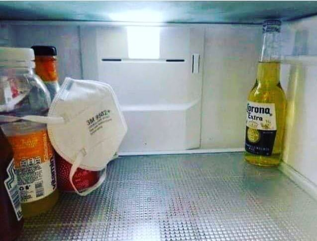 Meanwhile, inside your fridge!