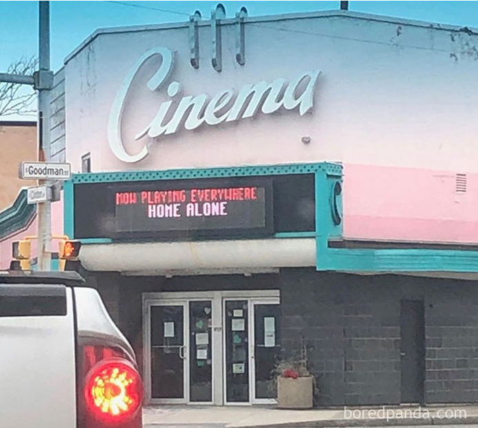 Meanwhile at our local cinema 😀