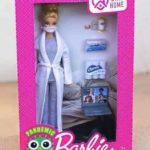 Pandemic Barbie launches in America! 😀