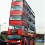 London launches new Social Distancing Buses! 😀