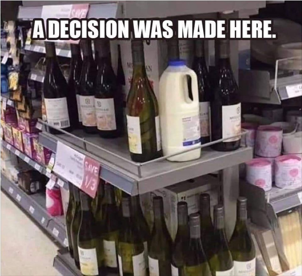 Anyone else know this dilemma? 🍷