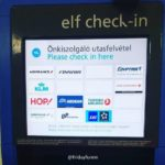 So sweet how elves get their own check-in these days! 😀