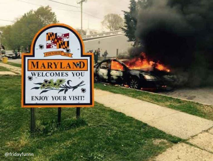 Meanwhile in Maryland! Enjoy your visit! 😆