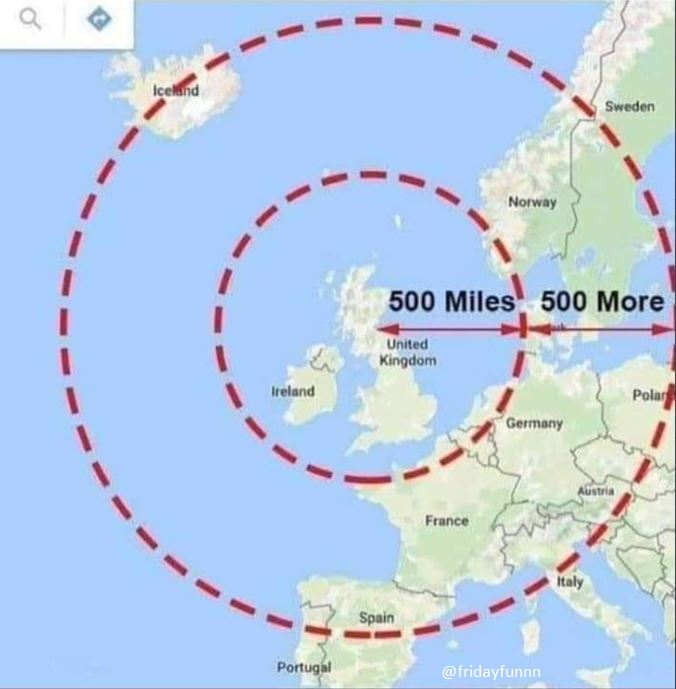 Ever wondered how far The Proclaimers were willing to go? 😀