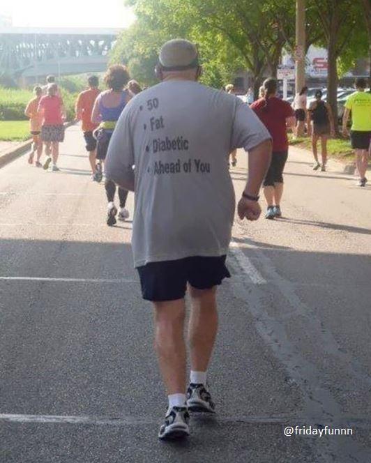 And ahead of you! Fair point! Hahaha! 😆