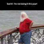 BREAKING NEWS: Santa resigns! 😀