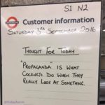 Language lessons from London Underground! 👍