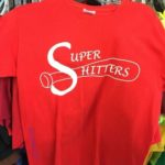 """I'm really hoping that says """"Super Hitters""""? 😆"""