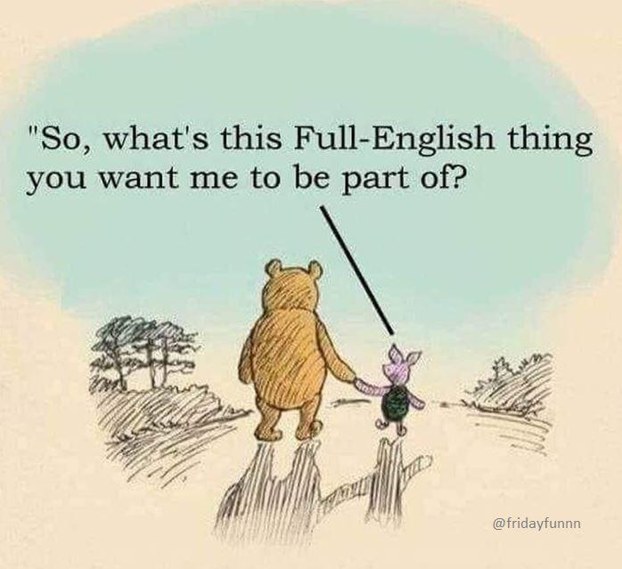 Pooh Bear!! That's NOT OK! 😔