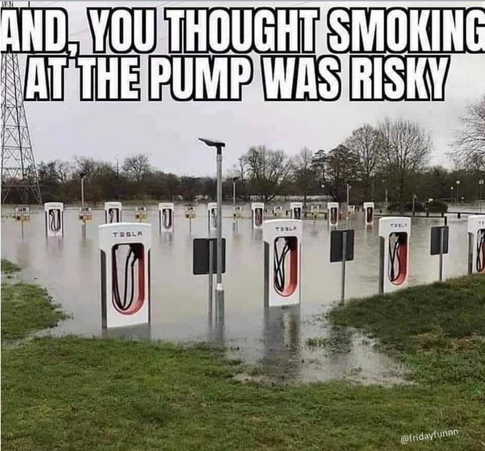 Tesla drivers beware! 😀
