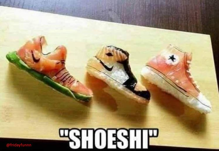 Why does Sushi smell like feet? 😀