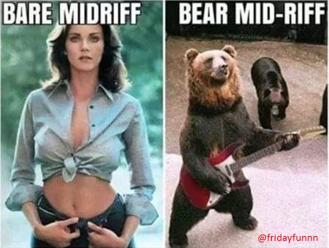 Who doesn't love a bear mid riff? 😀