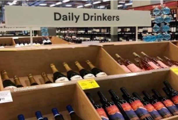 You know you you are! Don't worry! Costco has you covered! 🍷