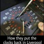 Clocks go back tonight! 😀