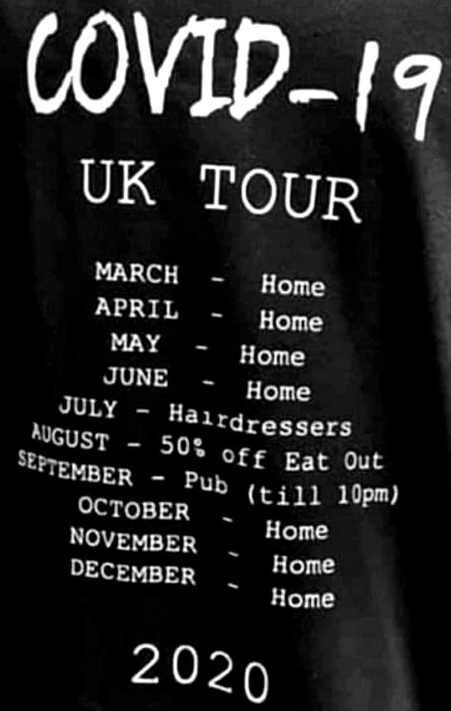 Next year's tour dates to be announced soon! 😀