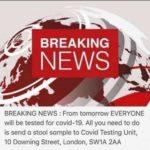 Breaking News: UK COVID testing update! 😀