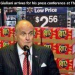 Meanwhile in Washington, Giuliani does it again! 😀