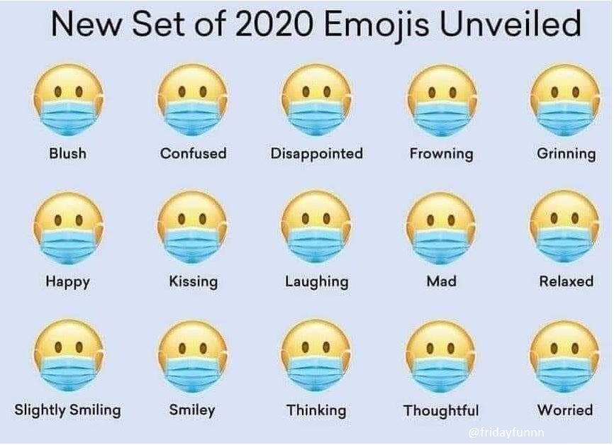 These new Emojis should help! 😀