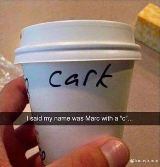 """It's Marc with a """"C"""""""