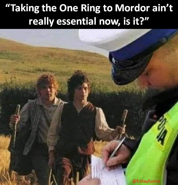 Meanwhile somewhere in Hobbiton! 😀