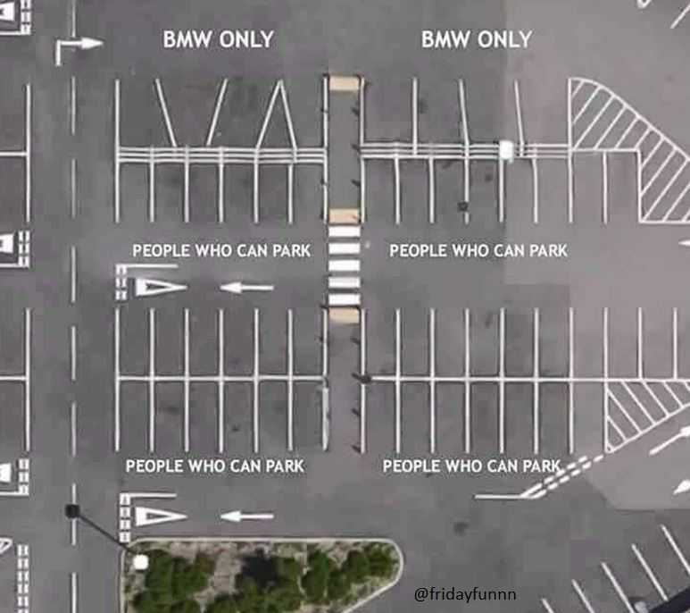 Are BMW drivers really that bad? 😀