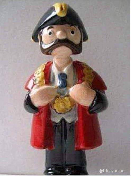 Who knew Lemmy was the Mayor of Trumpton? 😀
