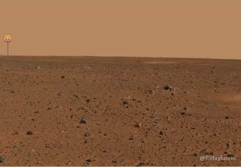 BREAKING NEWS: First pictures from Mars! 😀