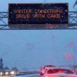If you see Texan drivers eating cake, here's why! 😀