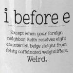 """Neighbor"" looks more weird round here! 😀"