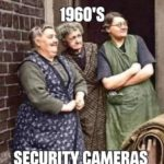Anyone remember this early form of CCTV? 😀