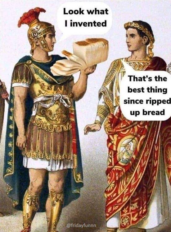 Gotta love the Romans! 😀