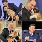 World leaders with their dogs! 😀