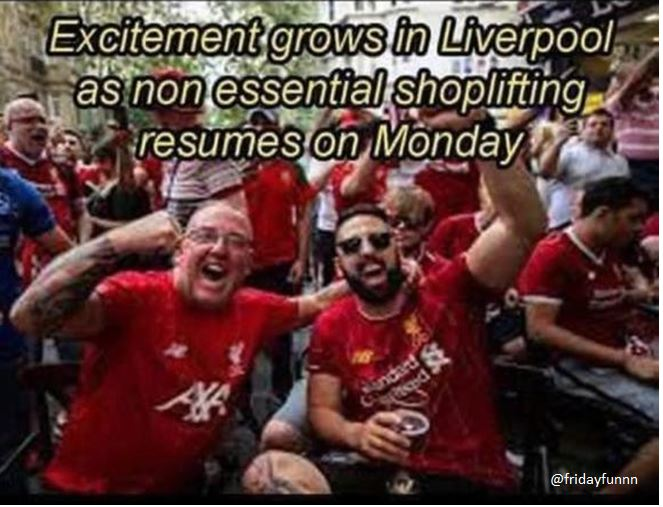It's a big day in Liverpool! 😀