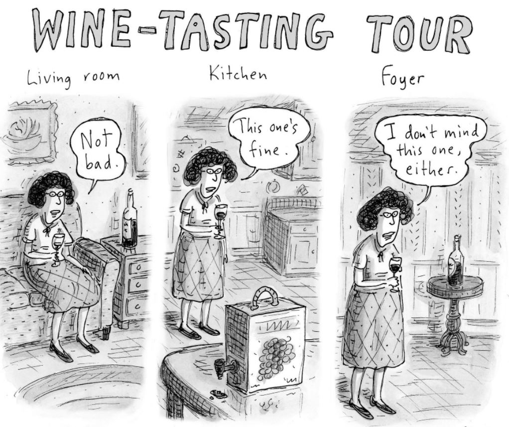 Wine Tour - lockdown style! 🍷