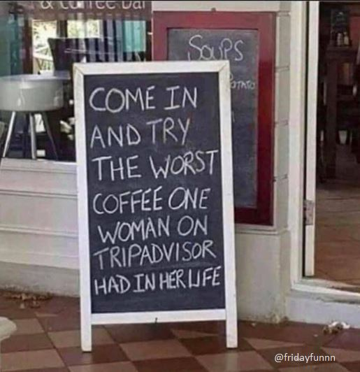 Yep I'd try it! Would you? ☕️