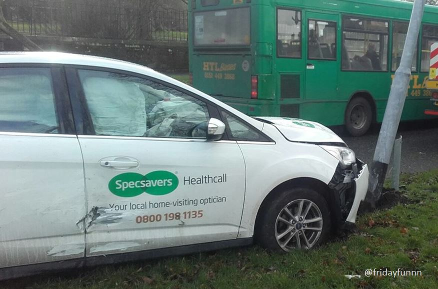 Should have gone to Specsavers!