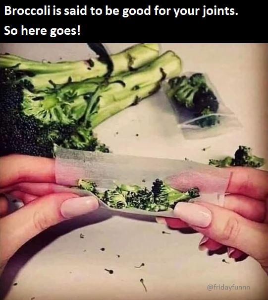 Broccoli - so many health benefits! 😀